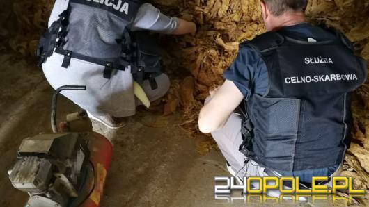 Policjanci zlikwidowali nielegalną wytwórnie tytoniu
