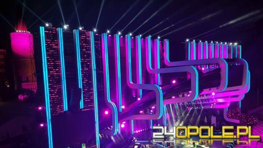 Ich festiwal trwa 11 dni. Jak wygląda oświetlenie amfiteatru od zaplecza?
