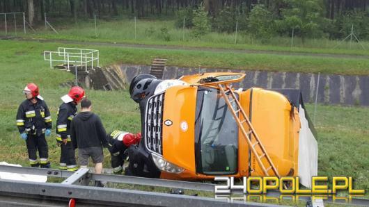 Uwaga kierowcy ! Nitka na wysokości 228km A4 w kierunku Katowic zablokowana