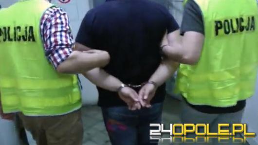 35-latek zatrzymany w związku z chemikaliami w Dąbrowie