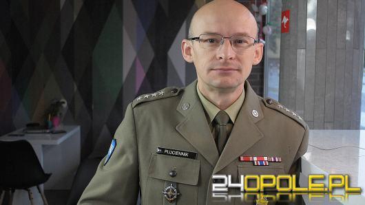 kpt. Piotr Płuciennik - podczas misji na Sycylii spotykamy się z tamtejsza Polonią