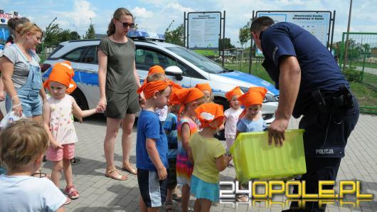 Wakacyjny piknik rowerowy. Policja bawi i uczy
