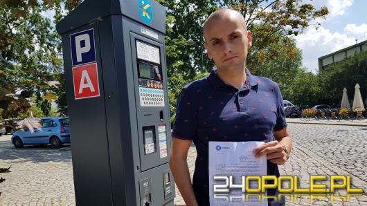 W parkomatach na terenie Opola nie trzeba już wpisywać numeru rejestracyjnego