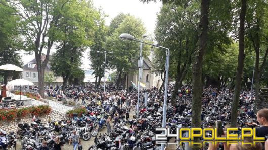 Motocykliści  po raz 16 spotkali się na górze św. Anny