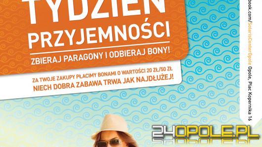 Tydzień Przyjemności - Solaris Center rozdaje bony za paragony