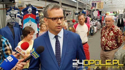 """Razem dla Opola broni kupców z Targowiska Centrum. """"Apeluję do prezydenta o rozmowy"""""""