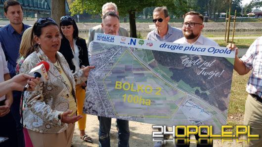 Koalicja Obywatelska proponuje 100 hektarowy park miejski, z nowym jeziorem