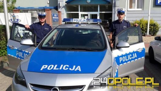 Policjanci zmierzyli nadmierną prędkość, chwilę potem sami torowali szybki przejazd
