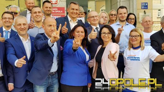 Parlamentarzyści Borys Budka i Kamila Gasiuk-Pihowicz wierzą w pewną wygraną Koalicji Obywatelskiej