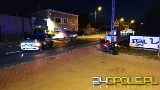 Śmiertelny wypadek motocyklisty w Kluczborku
