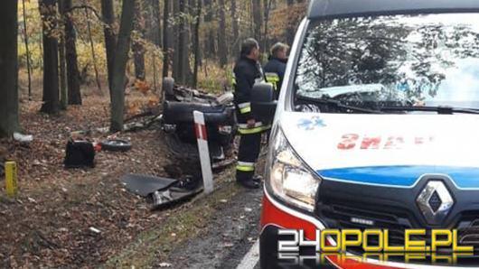 Tragiczny wypadek na trasie Opole-Kluczbork. Zginął młody kierowca