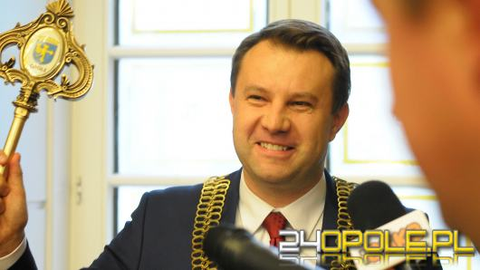 Prezydent Arkadiusz Wiśniewski oficjalnie rozpoczął dziś urzędowanie