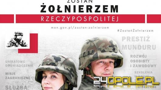 """Trwa kampania rekrutacyjna Ministerstwa Obrony Narodowej """"Zostań żołnierzem Rzeczypospolitej"""""""