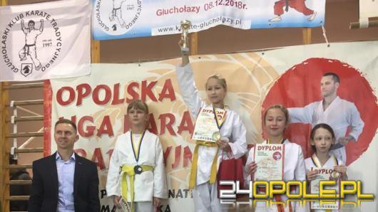 Opolscy mali karatecy z workiem medali