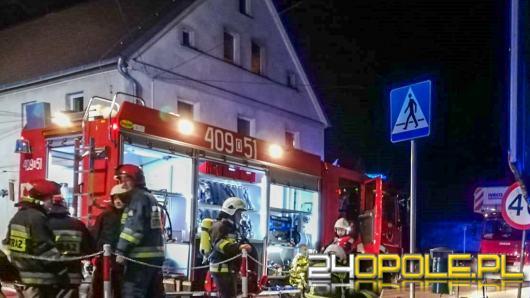 Pożar w Lewinie Brzeskim. Paliła się szafa z ubraniami