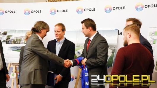 Podpisano umowę na przygotowanie projektu stadionu w Opolu. Pierwszy mecz za 4 lata?