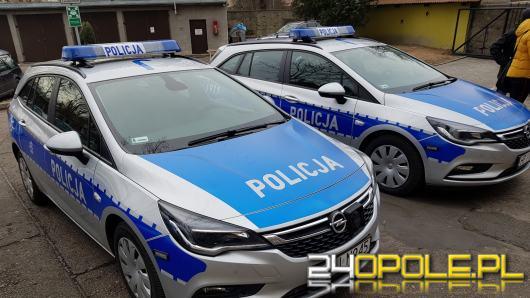 Policja ma trzy nowe wozy. Na dwa dołożyło się miasto