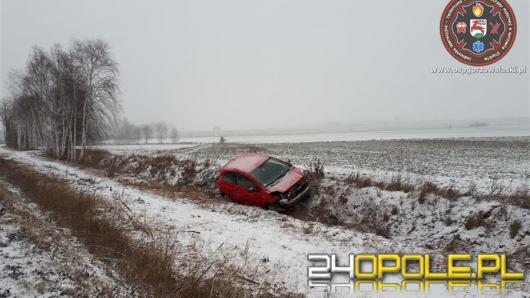 Na opolskich drogach minionej doby doszło do wielu kolizji i zdarzeń drogowych