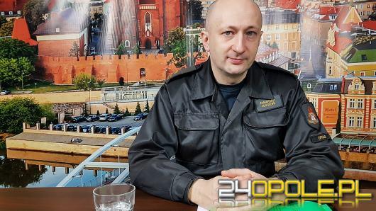 """Mł.  bryg. Dariusz Gieroń - po kontroli straży pożarnej jeden """"escape room"""" został zamknięty"""
