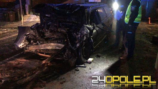 Wypadek na ulicy Oświęcimskiej. Sprawcą pijany kierowca