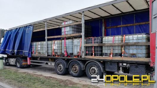 Funkcjonariusze opolskiej KAS zatrzymali 28 tysięcy litrów paliwa