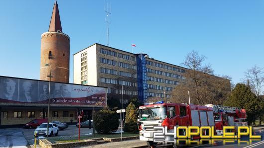 Alarm bombowy w Urzędzie Wojewódzkim, trwa sprawdzanie pomieszczeń