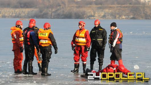 Strażacy apelują: Wchodzenie na lód jest ZAWSZE niebezpieczne