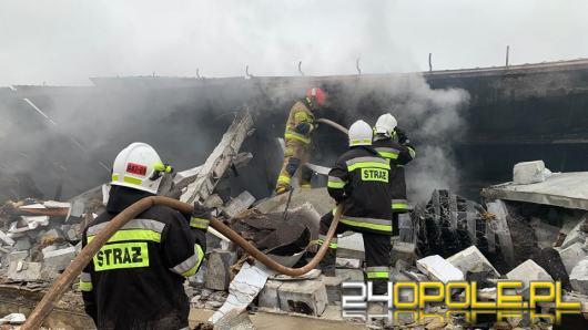 Spłonął kurnik w Brożcu. W akcji brało udział 18 zastępów straży