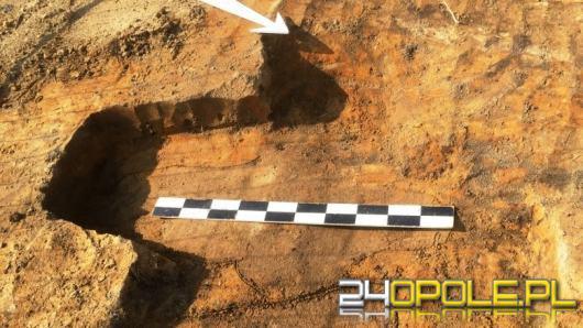 Archeologiczne odkrycie przy rozbudowie drogi w ciągu DK45