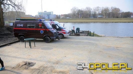 Przystań rekreacyjna na Odrze jeszcze w tym roku. Trwają prace strażaków z OSP ORW