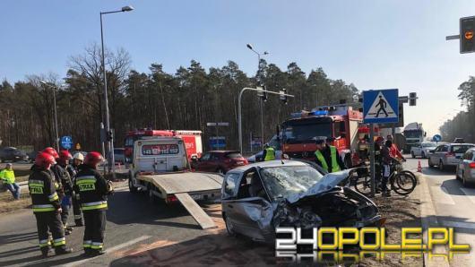 Wypadek na obwodnicy Opola. Są utrudnienia w ruchu