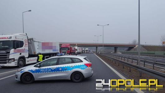 Autostrada A-4 zamknięta po wypadku