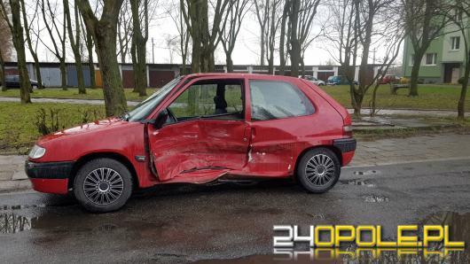 Wypadek na skrzyżowaniu 1 Maja i Rejtana