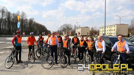 Największe rondo w gminie Olesno oficjalnie otwarte
