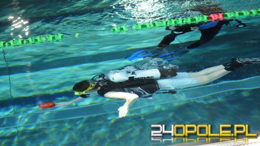 Na krytej pływalni Wodna Nuta rywalizują nurkowie