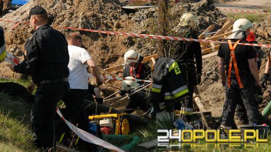 Blisko 11 godzin trwały działania strażaków w Schodni koło Ozimka