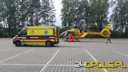 Nieszczęśliwy wypadek w Kozłowicach. Mężczyzna przygnieciony przez maszynę produkcyjną