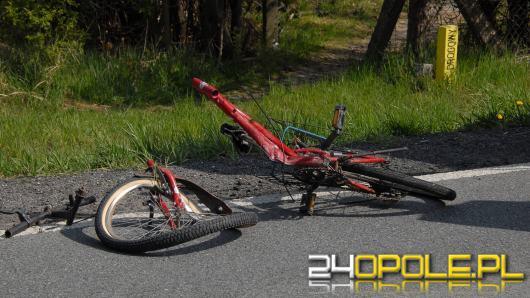 Tragiczny wypadek z udziałem rowerzysty