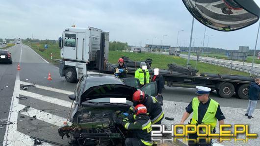Nikt nie odniósł obrażeń, często jednak wypadki przy węźle Opole Południe kończą się tragicznie