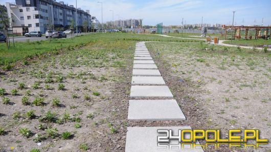 Opolski park sensoryczny miał bawić i edukować. Czy miasto zdąży wskrzesić zieleń?