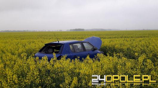 Wypadek na DK45 blisko Straduni. Jedna osoba w szpitalu