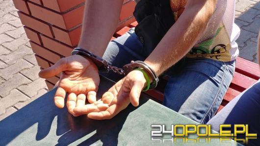 Poszukiwany zatrzymany z narkotykami