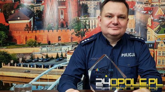 """St. asp. Piotr Chwastowski - wśród laureatów polskich """"internetowych Oscarów"""""""