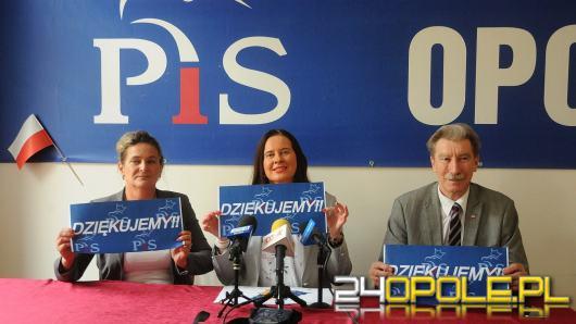 PiS mimo przegranej na Opolszczyźnie świętuje sukces w skali całego kraju