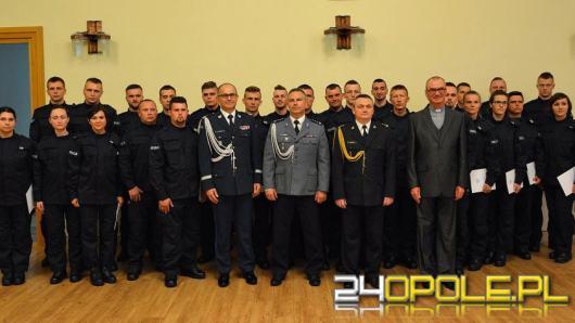 29 nowych policjantów wstąpiło w szeregi opolskiej Policji