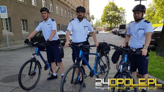 Policjanci rozpoczęli sezon rowerowy. Podczas patrolu docierają tam, gdzie nie docierają radiowozy