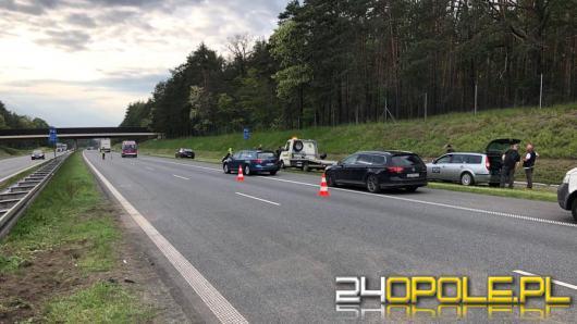 Dwóch motocyklistów zderzyło się na opolskim odcinku A4