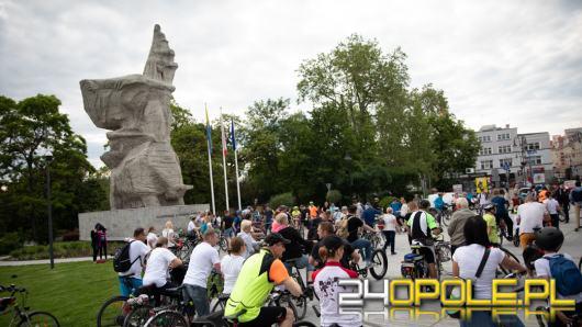 Dziesiątki rowerzystów przejechało ulicami Opola