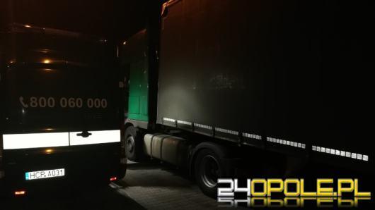 Magnes na impulsatorze w dwóch ciężarówkach ujawniło Opolskie KAS