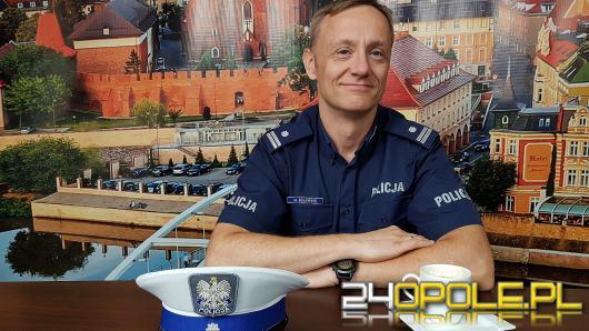 Podinsp. Maciej Milewski - podczas weekendu policja zatrzymała 40 nietrzeźwych kierowców
